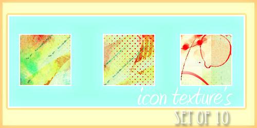 Icon Texture's - Set 3