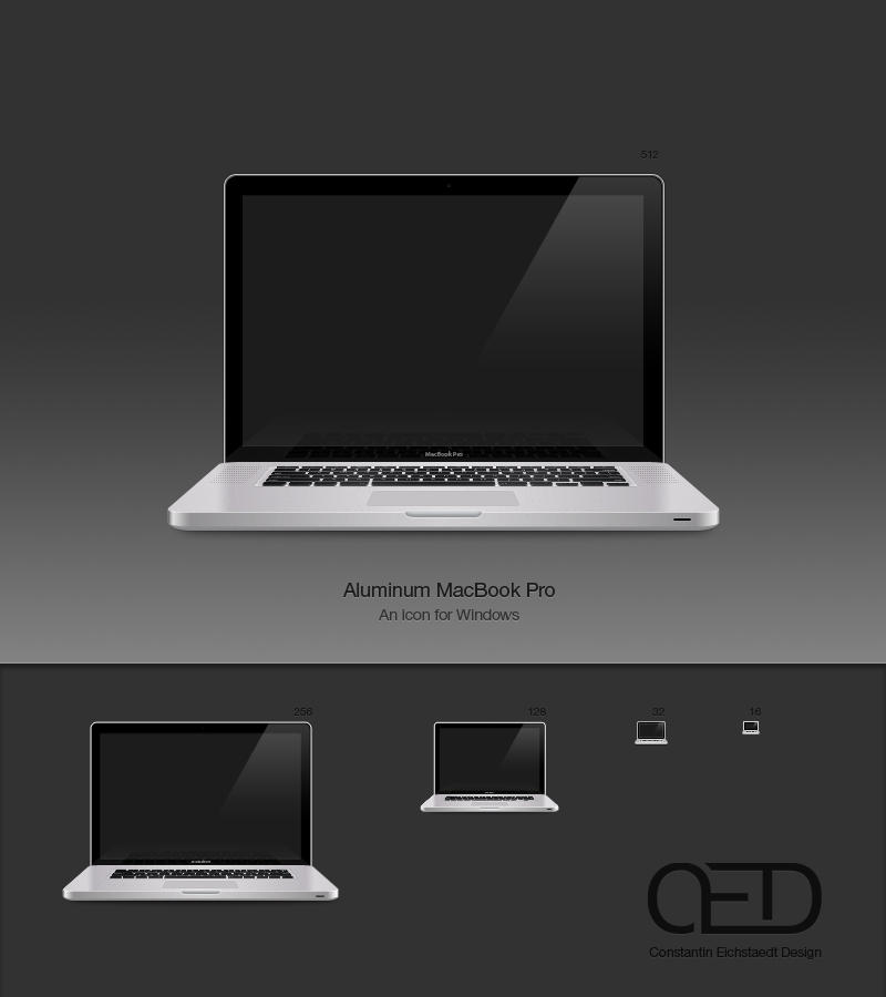 Aluminum MacBook Pro Win by CE0311