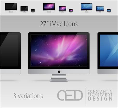 27' iMac Icon OS X