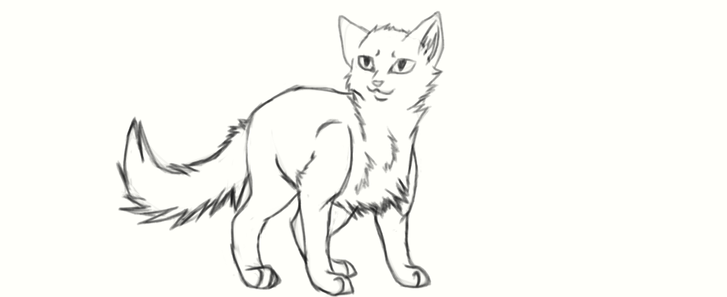Cat Standing X3 By CougarClaw01 On DeviantArt