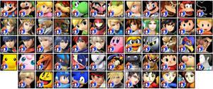 Super Smash Bros. 4 Avatars