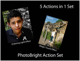 PhotoBright Action Set