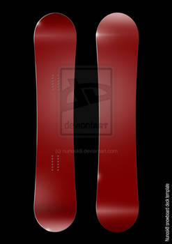 NEW snowboard template