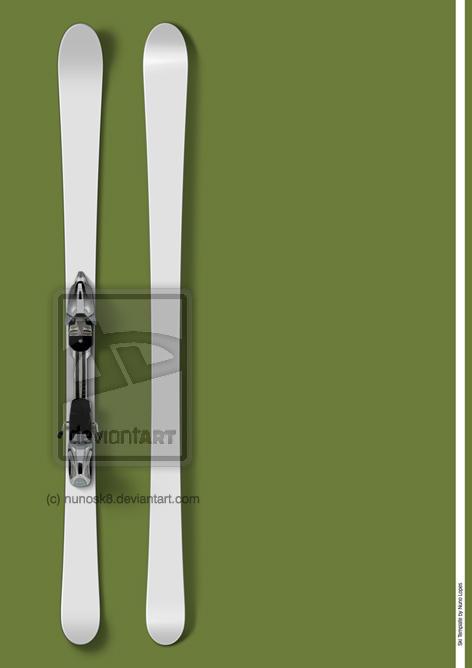 Ski Template by Nunosk8