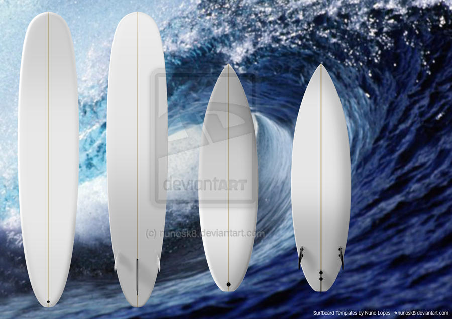 surfboard templates by nunosk8 on deviantart