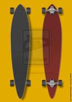 Skate Longboard template by Nunosk8