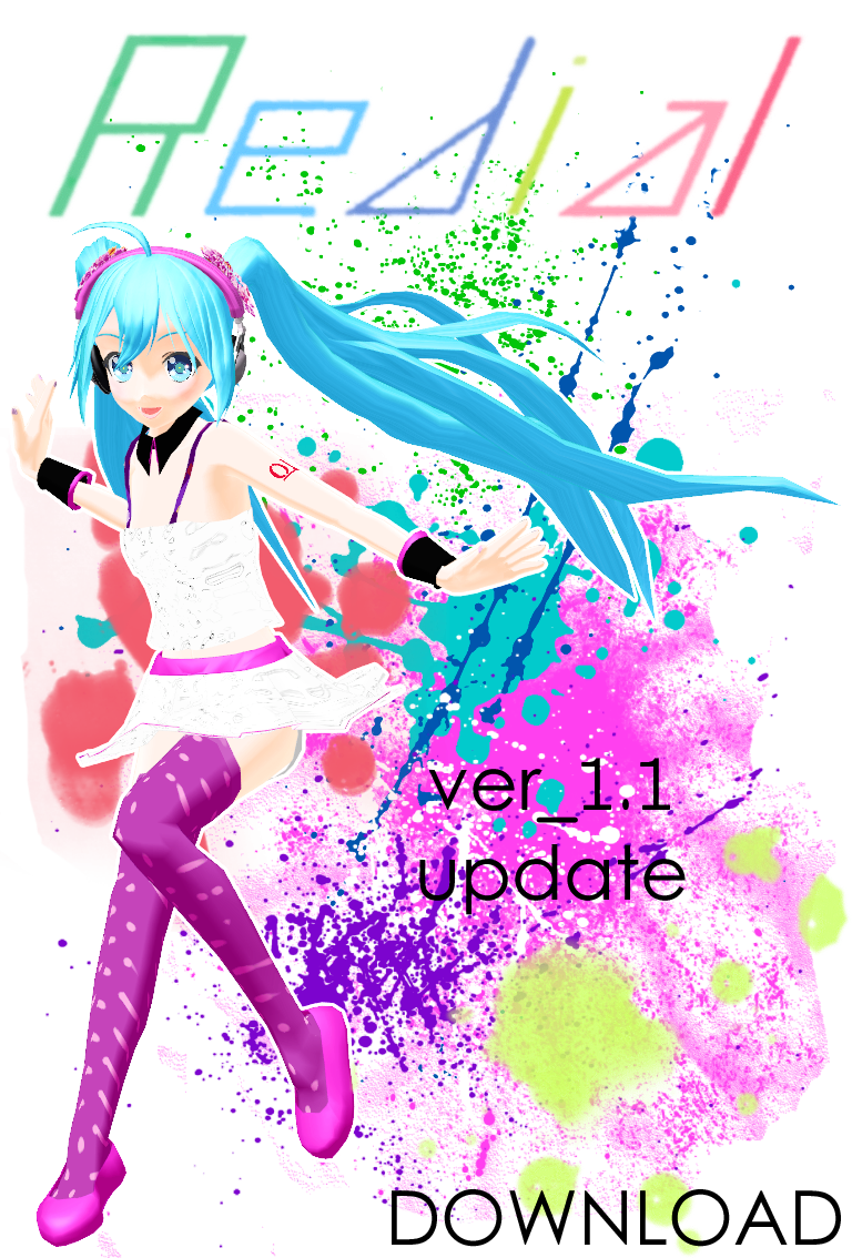 Re:Dial Miku ver_1.1 DOWNLOAD by KamaNoTenshi