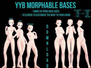 [MMD] YYB Morphable Bases [DOWNLOAD]