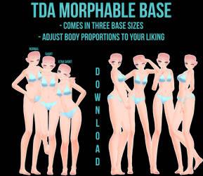 [MMD] TDA Morphable Base [DOWNLOAD]