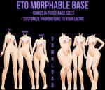 [MMD] Eto Morphable Base [DOWNLOAD]