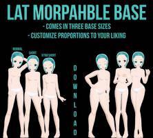 [MMD] LAT Morphable Base [DOWNLOAD]