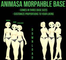 [MMD] Animasa Morphable Base [DOWNLOAD]