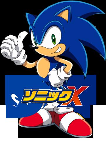 Sonic X Anime Icon by Nitroguy7