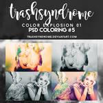 TrashSyndrome PSD Coloring #5 - Color Explosion 01