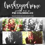 TrashSyndrome PSD Coloring #12 - Apple Pie 01