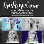 TrashSyndrome PSD Coloring #25 - Ultraviolence 03
