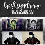 TrashSyndrome PSD Coloring #16 - Ultraviolence 01