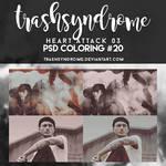 TrashSyndrome PSD Coloring #20 - Heart Attack 03