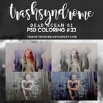 TrashSyndrome PSD Coloring #23 - Dead Ocean 02