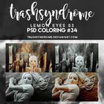 TrashSyndrome PSD Coloring #34 - Lemon Eyes 03