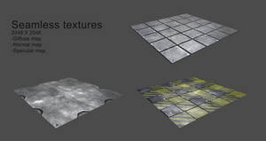 Free Metal Textures pt 1 by jylhis