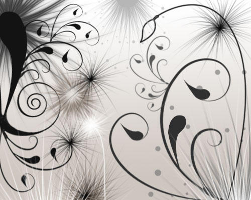 Some Artistic Wallpapers Swirls_and_Seeds_by_melemel