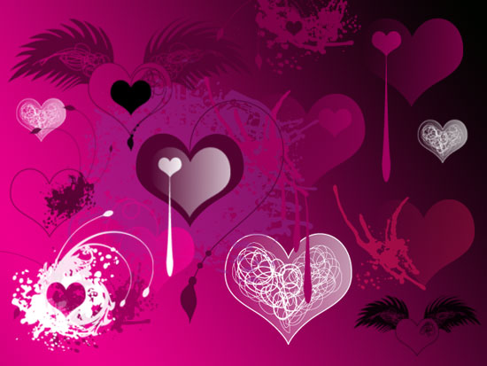 Valentines Brushes I