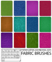 Fabric Brushes by melemel