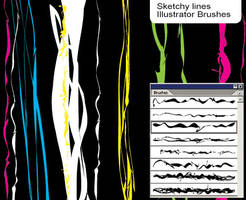Sketchy Brushes by melemel