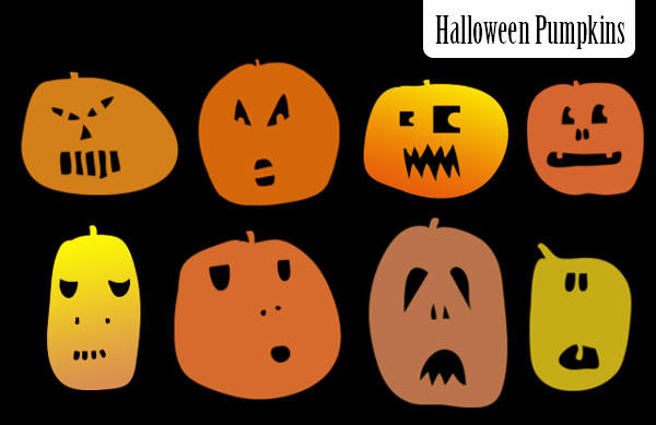 Pumpkin brushes by melemel