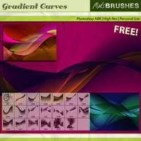 Gradient Curves by melemel