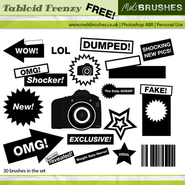 Tabloid Frenzy by melemel