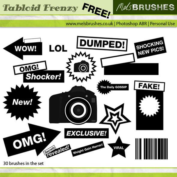 Tabloid Frenzy by melemel