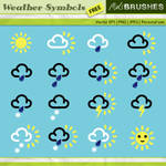 Vector Weather Symbols