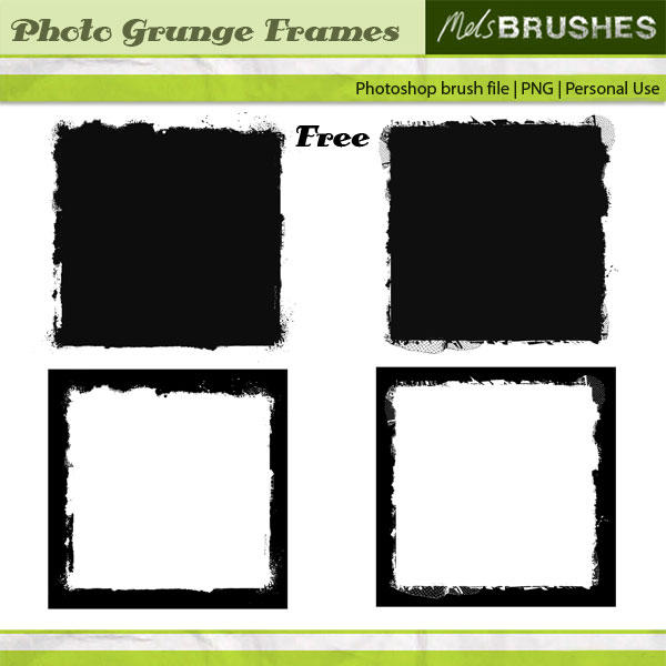 Photo Grunge Frames by melemel