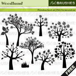 Woodland brushes