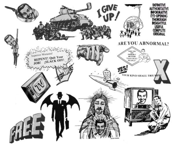 Church of the SubGenius Set 2 by melemel