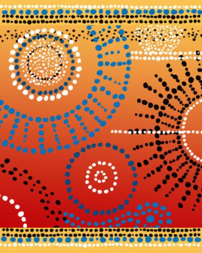 Aboriginal Art Dots by melemel