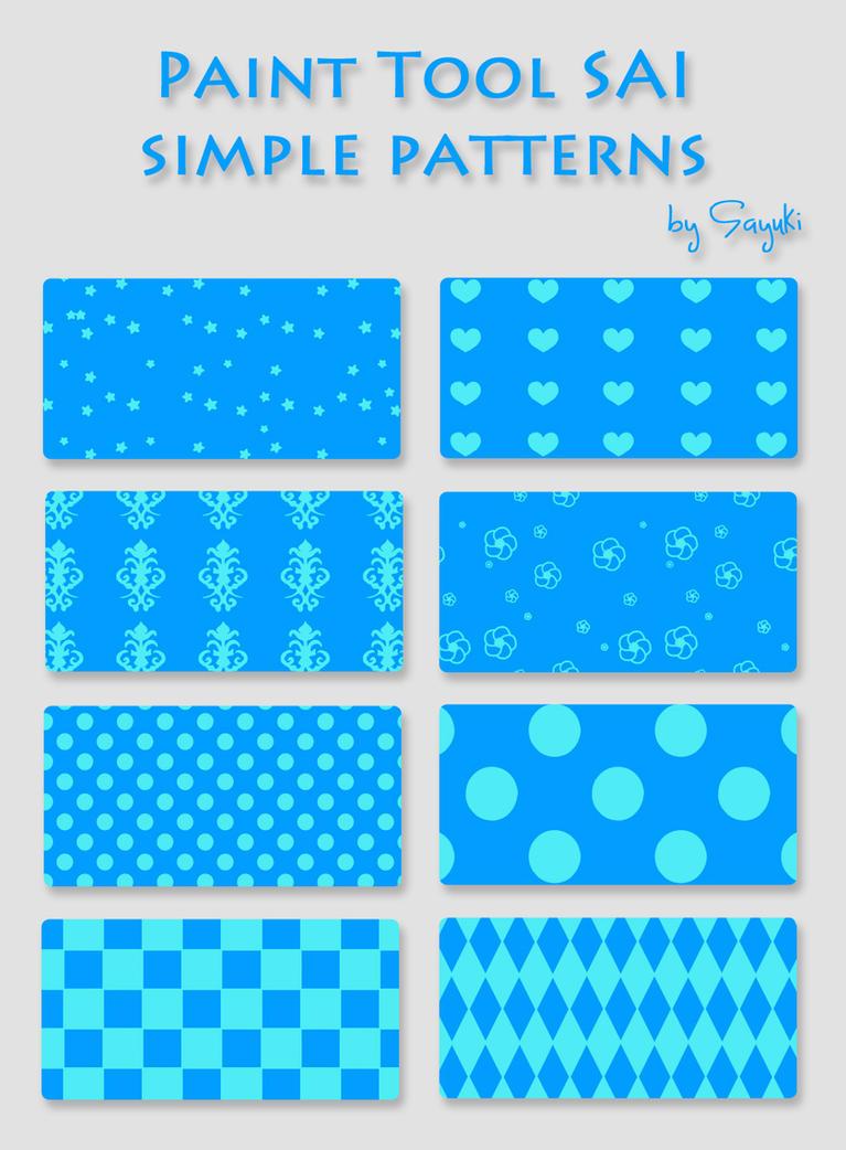 Repeating Pattern Paint Tool Sai