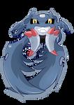 GIF .:Demidevimon:. Digimon time!