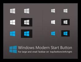 Windows Modern Start Button by dassebi