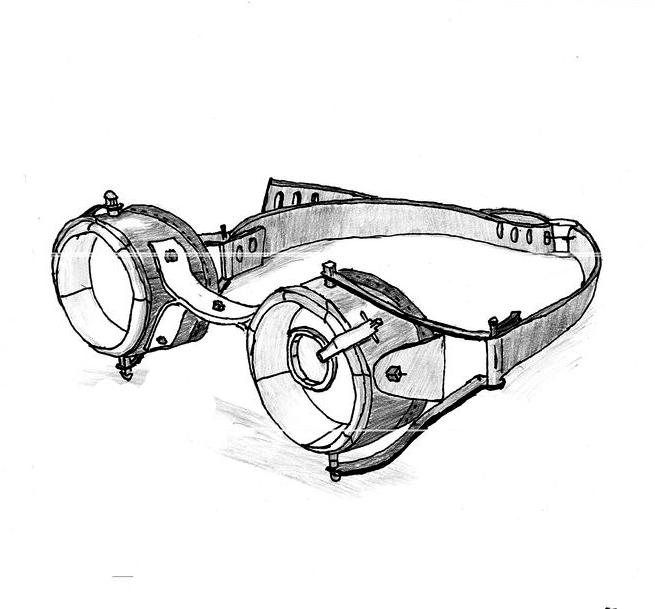 Steampunk Goggles by GurichiTheGlitch on DeviantArt
