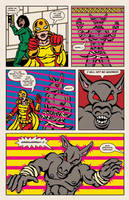 Lady Spectra and Sparky: Star Tomb pg.14 by JKCarrier