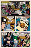 Lady Spectra and Sparky: Rings of the Lord pg.17 by JKCarrier