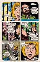 Lady Spectra and Sparky: Rings of the Lord pg.18 by JKCarrier