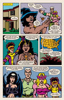 Lady Spectra and Sparky: Rings of the Lord pg.19 by JKCarrier