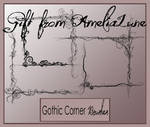 Gothic PS corner brushes
