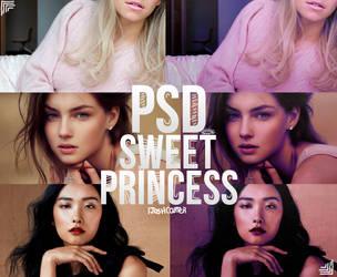 PSD: Sweet Princess by iJoshCarter