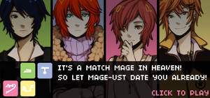 It's a Match MAGE in Heaven! Otome Game