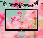 #Wall flowers.
